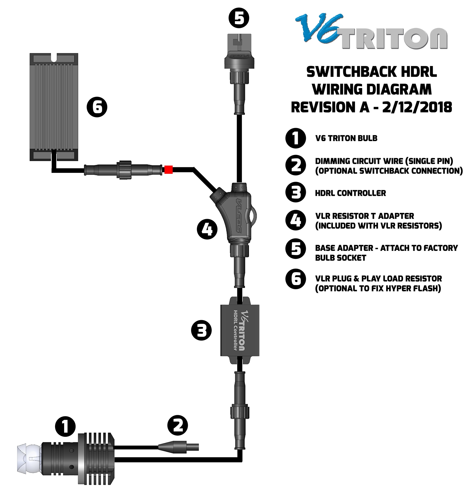V6 Triton Switchback Installation Instructions