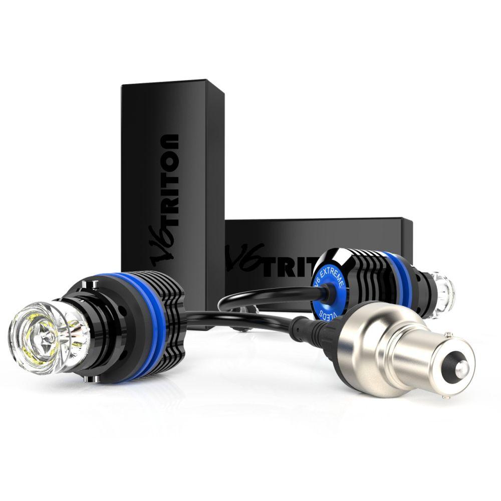 V6 EXTREME REVERSE LIGHT SYSTEM 5K / 6K WHITE 1156