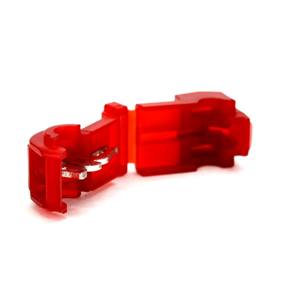 3M 9521 22-18GA IDC TERMINAL T-TAP RED