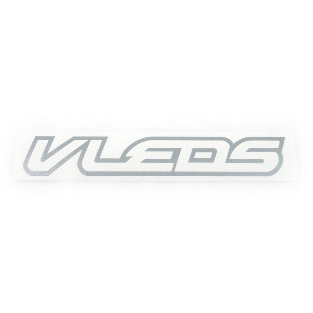 6 INCH VLEDS VINYL DECAL SILVER