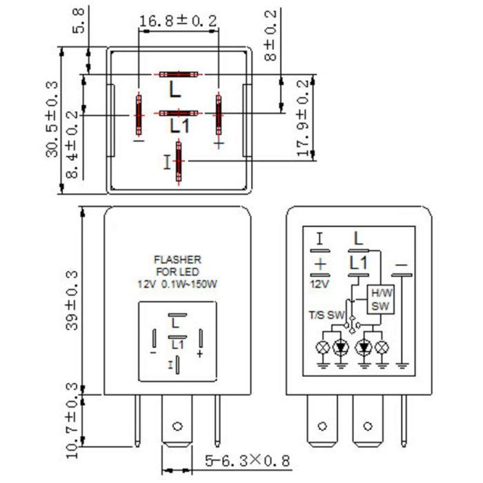 ep27 flasher 5 pin